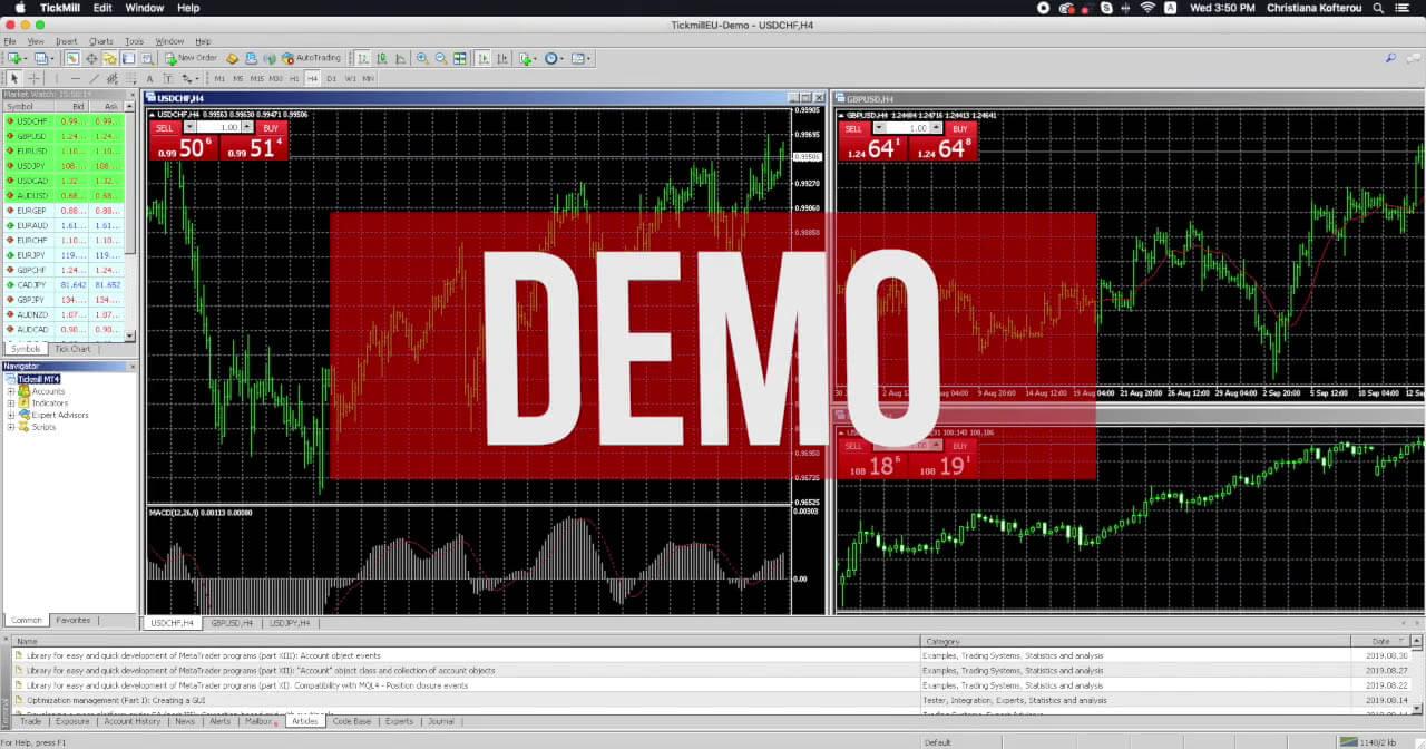 Latihan Trading Forex Dengan Akun Demo